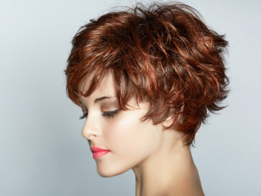 Hair Style 6 – Short Red Hair