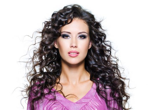 Hair Style 7 – Long Black Curly Hair