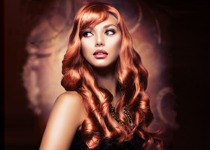 Hair Style 10 – Long Red Hair