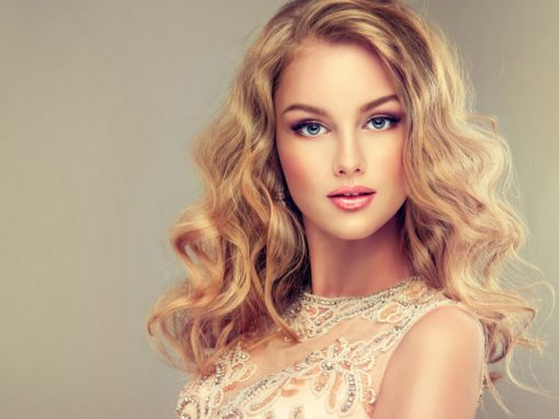 Hair Style 9 – Long Blonde Gair