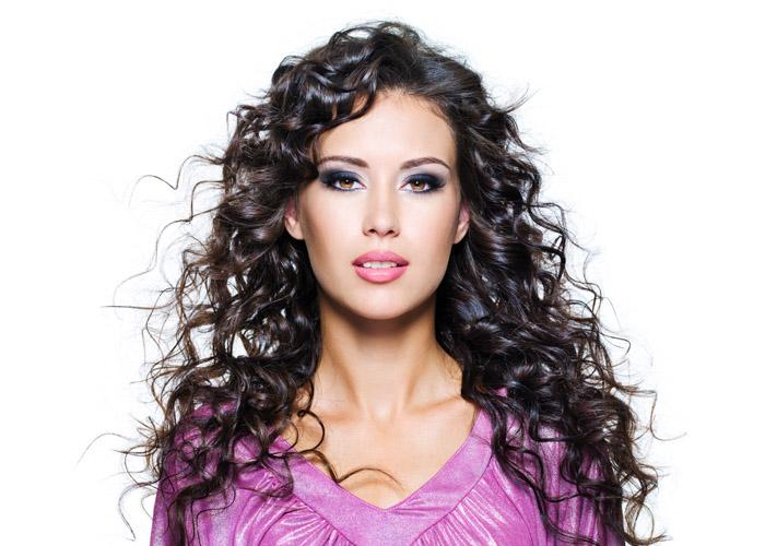 Hair Style 7 – Long Black Curly Hair
