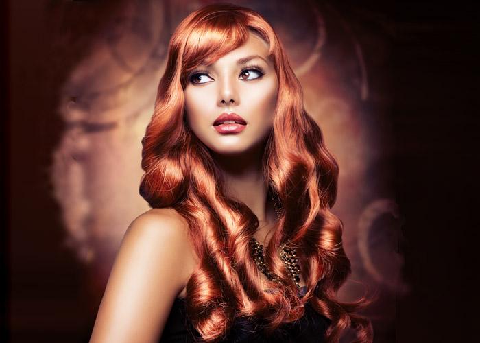 Hair Style 10 – Long Red Hair