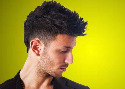 Men's Short Haircut, Shaved sides